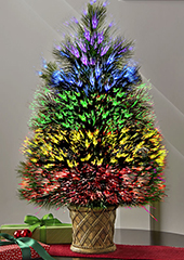 The Tabletop Northern Lights Tree