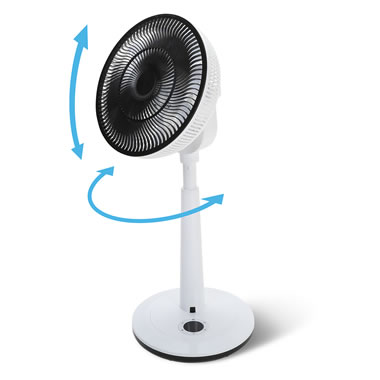 The Vertical And Horizontal Oscillating Fan