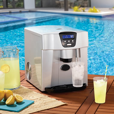 The Non-Plumbed Ice Maker/Water Dispenser