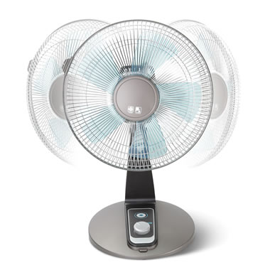 Turbo Silence Tabletop Fan