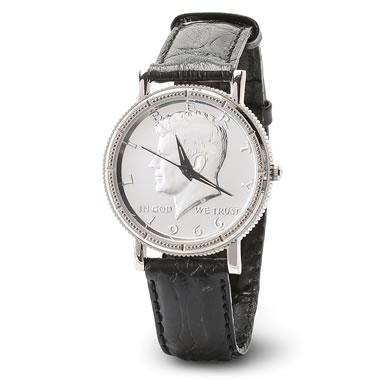 The JFK Half Dollar Watch
