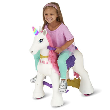 Children's Ride On Unicorn Set