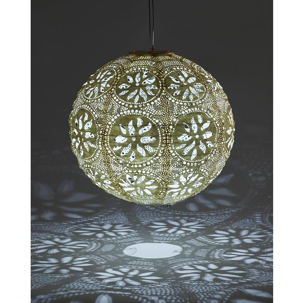 The All Weather Solar Garden Lantern.