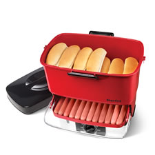 The Party Hot Dog Steamer