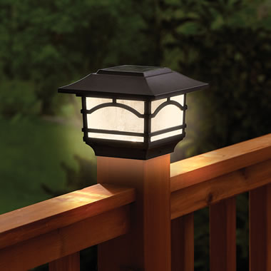 The Solar Deck Post Lanterns