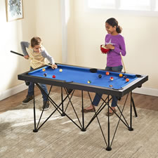 The Foldaway 5' Billiards Table