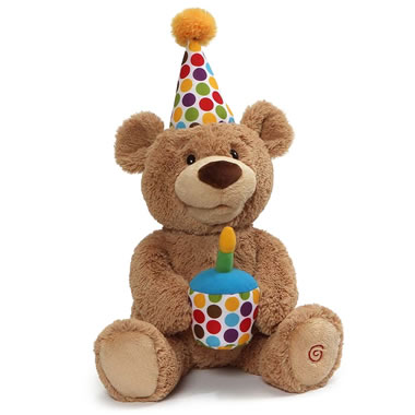 The Happy Birthday Singing and Dancing Bear