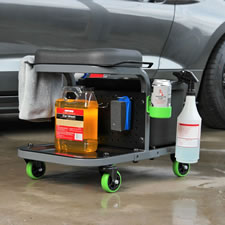The Rolling Car Detailing Bench