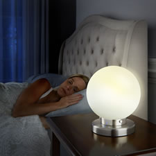 The Sleep Inducing Globe Lamp