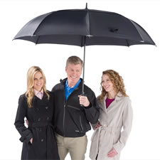 "The Complete Coverage Umbrella (68"")"