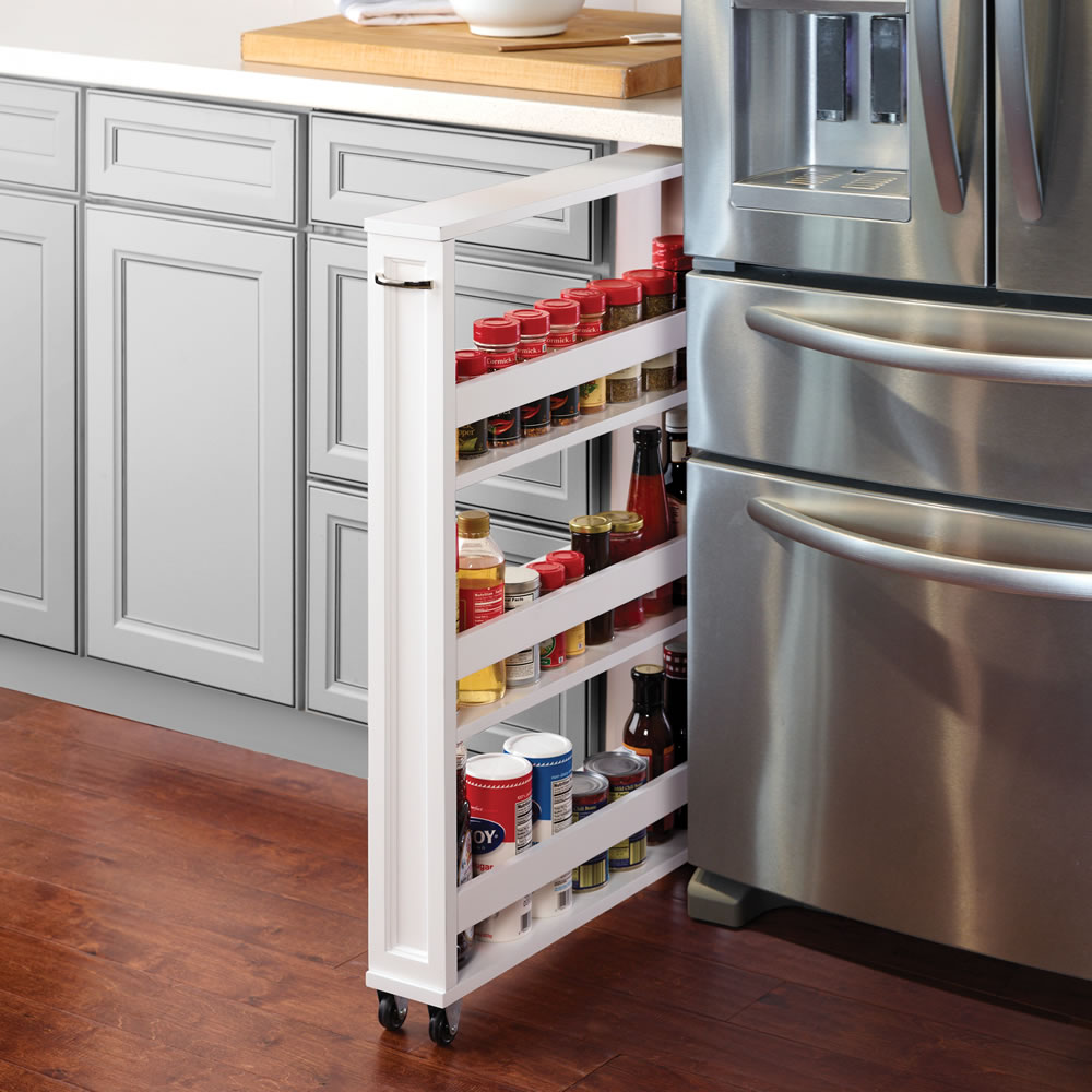 The Tight Space Kitchen Pantry Hammacher Schlemmer