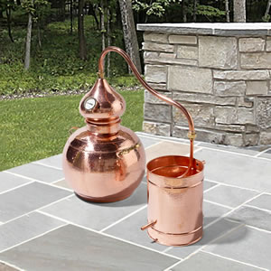 The Handcrafted European Copper Distiller