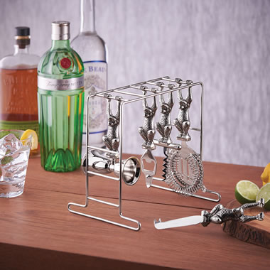 The Drink No Evil Cocktail Tools