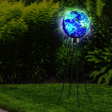 The Glowing Garden Globe
