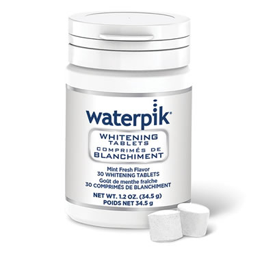 Professional Whitening Water Flosser Tablets White