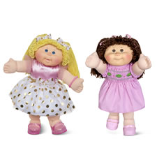 The Vintage Design Cabbage Patch Doll