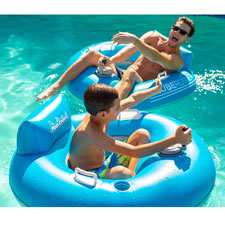 The Motorized Pool Tube