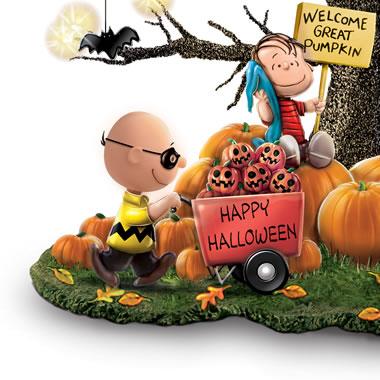 Charlie Brown Halloween Lawn Decorations  from digital.hammacher.com