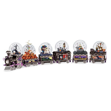 The Nightmare Before Christmas Glitterglobe Train