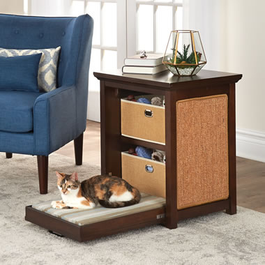 The Cat's Murphy Bed