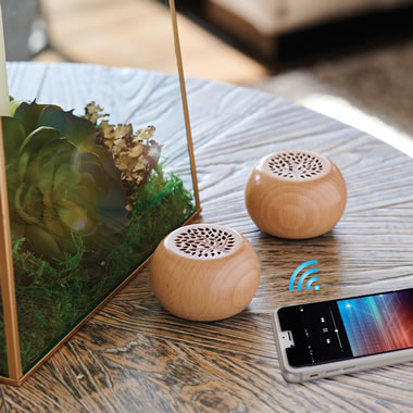 The Guitar Wood Wireless Speakers