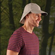 The Mosquito Repelling Flap Cap