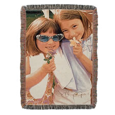 The Woven Photographic Throw
