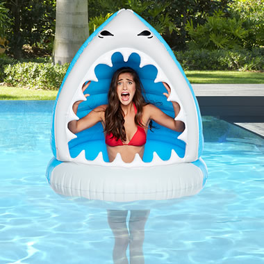 The Shark Attack Pool Float