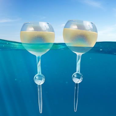 The Floating And Beach Wine Glasses