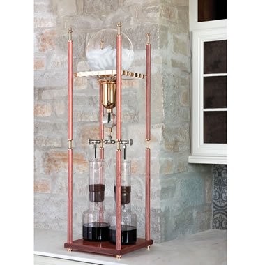 The Japanese Slow Drip Cold Coffee Brewer
