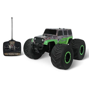 The Realtree Camouflage RC Stunt Monster Truck