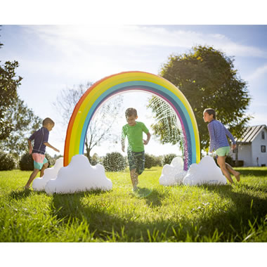 The Inflatable Rainbow Arch Sprinkler