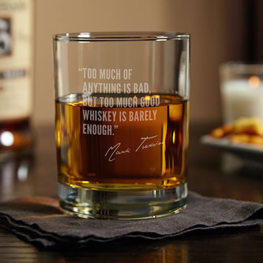 The Great Whiskey Lover?s Witticisms Glasses