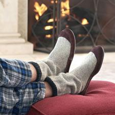 The Astronaut's Slipper Socks (Men's)