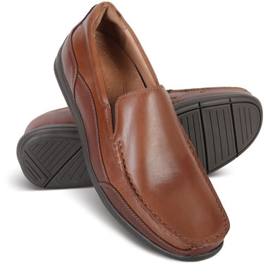 The Plantar Fasciitis Leather Loafers