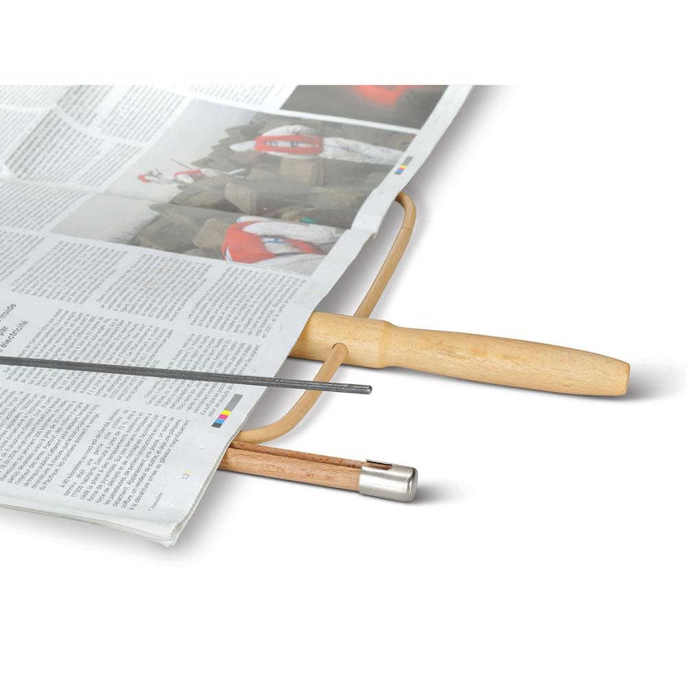 The Viennese Coffeehouse Newspaper Holder - Hammacher Schlemmer
