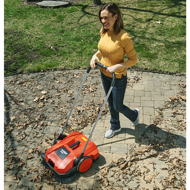 The Professional Driveway Precision Sweeper
