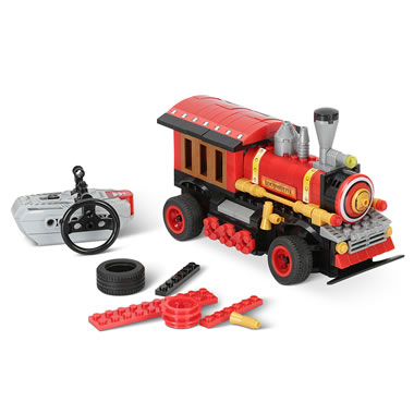 The Build Your Own RC Locomotive