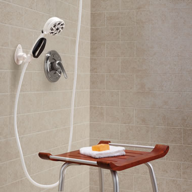 The Long Reach Handheld Showerhead