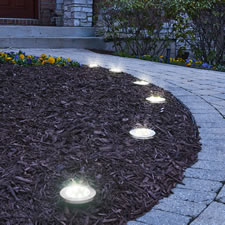 The Solar LED Landscape Lights