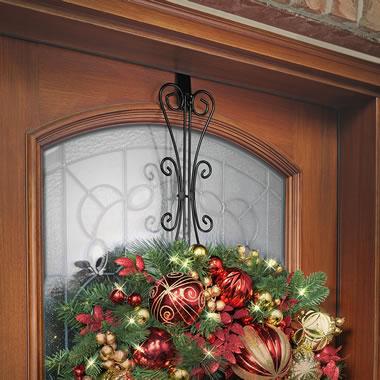 The Over The Door Wreath Hanger