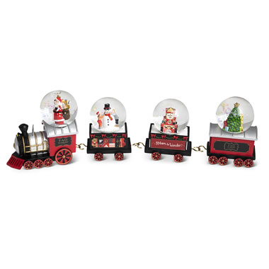 FAO Schwarz Mini Snowglobe Train
