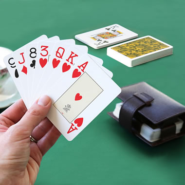 Her Majesty's Silk Playing Cards