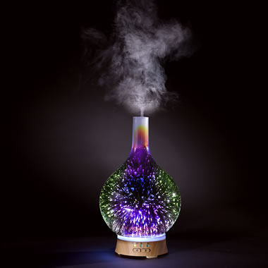 The LED Light Show Aroma Diffuser