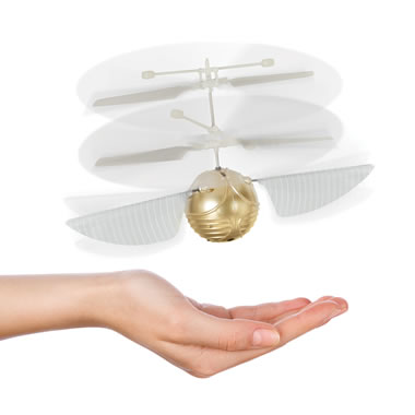 Harry Potter's Golden Snitch Drone
