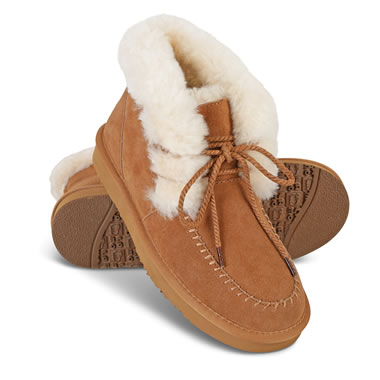 The Sherpa's Sheepskin Booties