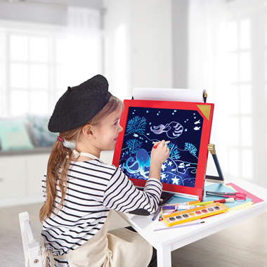 The FAO Schwarz LED Tabletop Easel