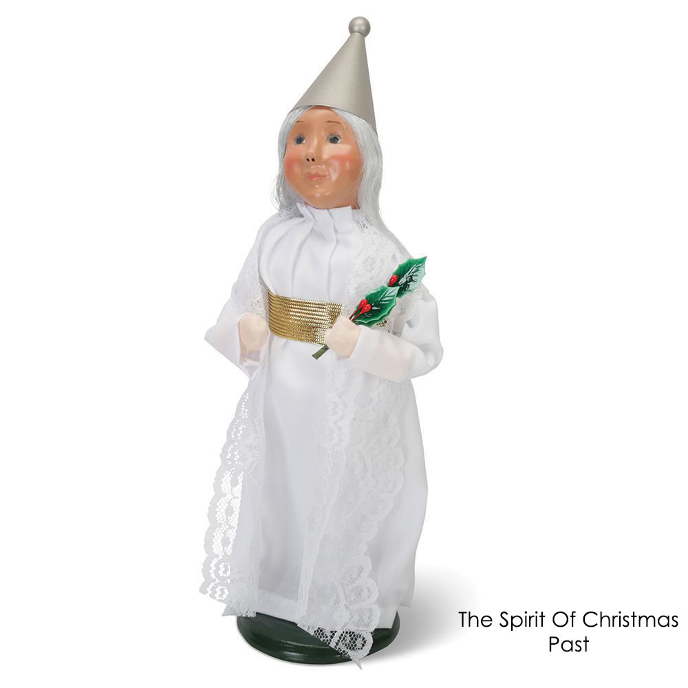 Spirit Of Christmas Past Costume.A Christmas Carol Handcrafted Icons Hammacher Schlemmer