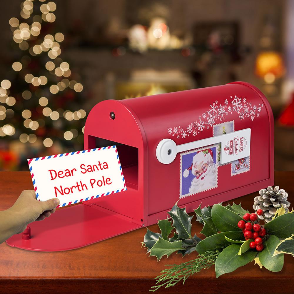 The Letter To Santa Magic Mailbox