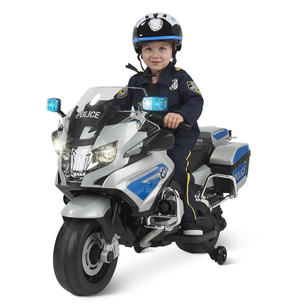 The Ride On Bmw Police Motorcycle Boy